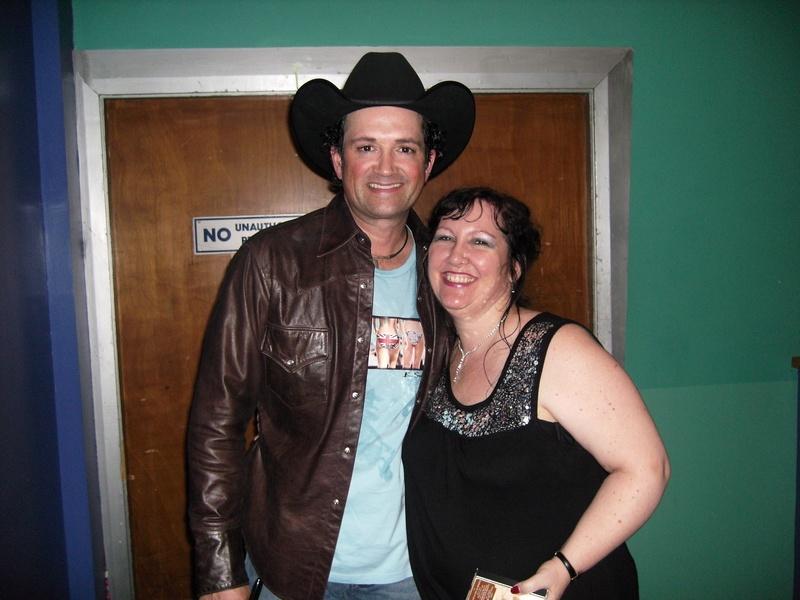 Tracy Byrd Minehead March 2009
